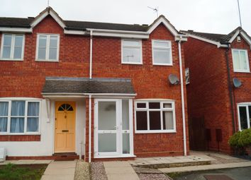 Thumbnail 2 bed semi-detached house to rent in Sanctuary Close, Worcester
