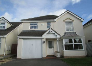 Thumbnail 4 bed detached house to rent in Gelli Wen, Broadlands, Bridgend