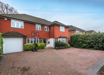 Thumbnail 5 bed detached house for sale in Kenwood Drive, Hersham, Walton-On-Thames
