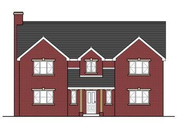 Thumbnail 4 bedroom detached house for sale in New Builds At Erw Haf, Llanwrtyd Wells