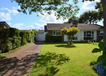 Thumbnail 3 bed semi-detached bungalow for sale in Brooke Road, Witheridge, Tiverton