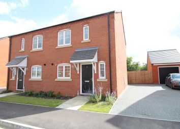 Thumbnail 3 bed semi-detached house for sale in Althorp Gardens, Raunds