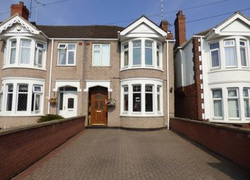 Thumbnail 3 bed terraced house for sale in Cheveral Avenue, Coventry