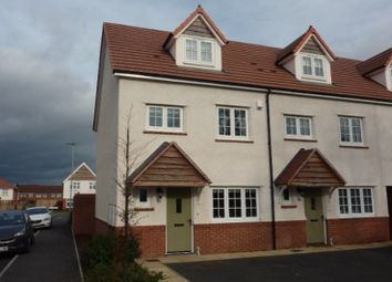Thumbnail 4 bed town house for sale in Turntable Avenue, Bromsgrove