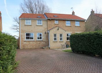 Thumbnail 4 bed detached house for sale in Wandales Drive, Burniston, Scarborough
