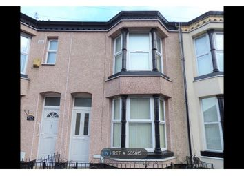 Thumbnail 2 bedroom terraced house to rent in Percy Street, Bootle