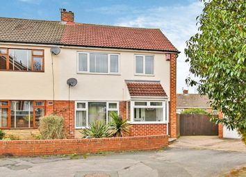 Thumbnail 3 bed semi-detached house for sale in Nuns Row, Durham