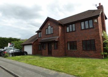 Thumbnail 4 bed detached house for sale in Newlyn Gardens, Penketh, Warrington, Cheshire