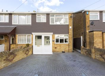 Thumbnail 3 bed end terrace house for sale in Whybridge Close, Rainham