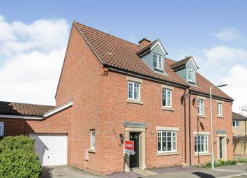 Thumbnail 4 bed semi-detached house for sale in Halls Drift, Kesgrave, Ipswich