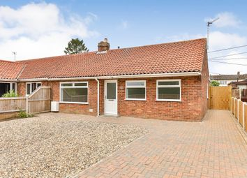 Thumbnail 3 bed semi-detached bungalow for sale in Westfield Lane, Dereham