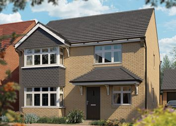 "Thumbnail 4 bed detached house for sale in ""The Canterbury"" at Station Road, Lower Stondon, Henlow"