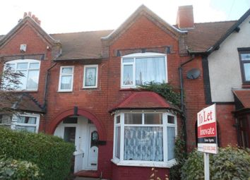 Thumbnail 3 bed terraced house to rent in Willow Avenue, Edgbaston, Birmingham