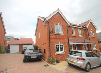 Thumbnail 3 bed semi-detached house for sale in Drovers Way, Newent