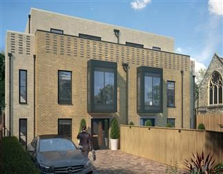 Thumbnail 5 bedroom town house for sale in Bishops Road, Highgate