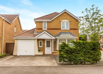 Thumbnail 4 bed detached house for sale in Powell Drive, Llanharan, Pontyclun