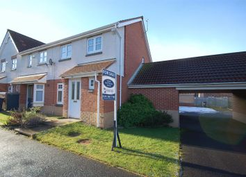 Thumbnail 3 bed semi-detached house for sale in Housesteads Gardens, Longbenton, Newcastle Upon Tyne