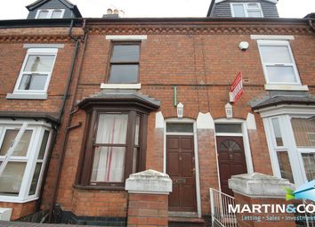 Thumbnail 3 bed terraced house to rent in Dartmouth Road, Selly Oak