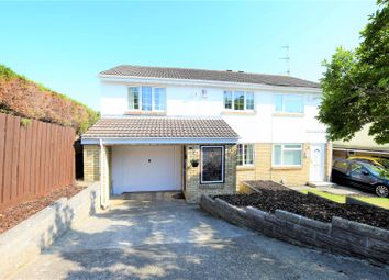 Thumbnail 4 bed semi-detached house for sale in Senni Close, Barry