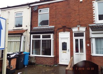 Thumbnail 1 bed terraced house to rent in Alaska Villas, Hull