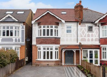 Thumbnail 4 bedroom semi-detached house for sale in Queens Road, London
