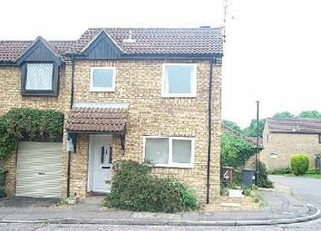 Thumbnail 2 bed end terrace house to rent in Linnet, Orton Wistow, Peterborough.