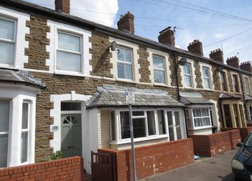 Thumbnail 3 bed terraced house to rent in Wyndham Road, Canton, Cardiff