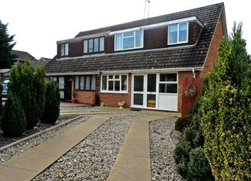 Thumbnail 3 bed semi-detached house for sale in Rolfe Crescent, Nether Heyford