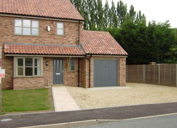 Thumbnail 3 bed semi-detached house to rent in Wisbech Road, Walpole St. Andrew, Wisbech