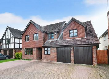 Thumbnail 5 bedroom detached house for sale in Rainsborough Rise, Thorpe St Andrew, Norwich
