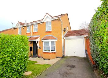 Thumbnail 3 bed semi-detached house for sale in Rivets Meadow Close, Thorpe Astley, Braunstone, Leicester
