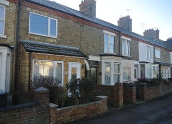 Thumbnail 3 bed terraced house to rent in Oundle Road, Peterborough, Cambridgeshire.