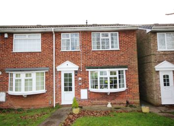 Thumbnail 3 bed semi-detached house for sale in The Gillies, Mansfield, Nottinghamshire