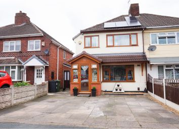 Thumbnail 3 bedroom semi-detached house for sale in Oak Road, Walsall