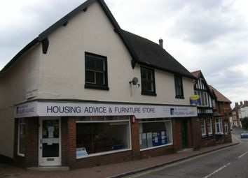 Thumbnail 1 bed flat to rent in High Street, Market Drayton, Shropshire