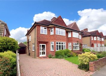 Thumbnail 4 bed semi-detached house for sale in Langley Way, Watford