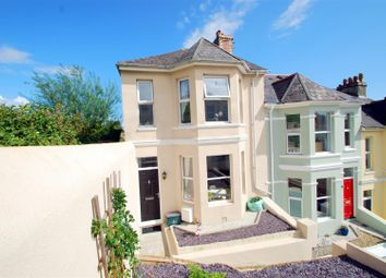 Thumbnail 3 bedroom end terrace house for sale in Rutland Road, Mannamead, Plymouth