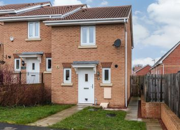 Thumbnail 2 bed semi-detached house for sale in The Wharf, Knottingley