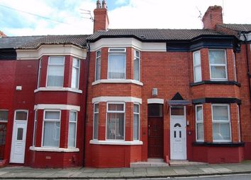 Thumbnail 3 bed terraced house for sale in Onslow Road, New Ferry, Merseyside
