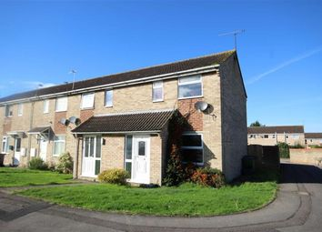 Thumbnail 2 bed end terrace house for sale in Langport Close, Freshbrook, Swindon