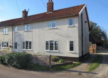 Thumbnail 4 bed semi-detached house for sale in Gallants Lane, East Harling, Norwich