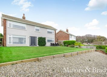 Thumbnail 4 bedroom detached house for sale in Gunton Cliff, Lowestoft