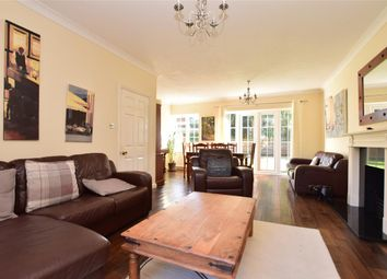 Thumbnail 4 bed detached house for sale in Knightwood Close, Reigate, Surrey
