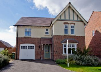 Thumbnail 4 bed detached house for sale in Gretton Drive, Anstey