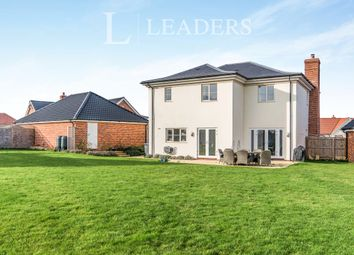 Thumbnail 4 bed detached house to rent in Felgate Way, Grundisburgh