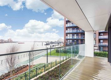 Thumbnail 3 bed flat for sale in Hampton Apartments [Waterfront I], Duke Of Wellington Avenue, Royal Arsenal Riverside