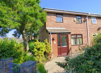 Thumbnail 3 bed terraced house for sale in Kingfisher Close, Bradwell, Great Yarmouth