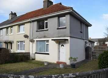 Thumbnail 3 bed end terrace house for sale in Manor Road, Camborne