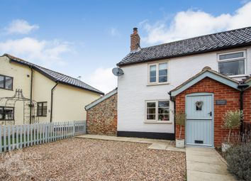 Thumbnail 3 bed cottage for sale in Triple Plea Road, Bedingham, Bungay