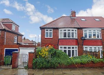 Thumbnail 3 bed semi-detached house for sale in Plantation Grove, Gateshead